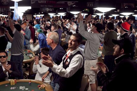Playing After the Bubble in a Multi-Table Tournament