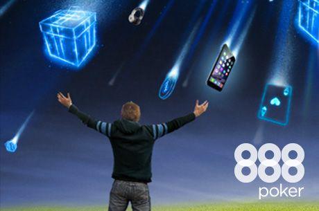 $1.000.000 Gift Giveaway nyereményeső a 888poker-en