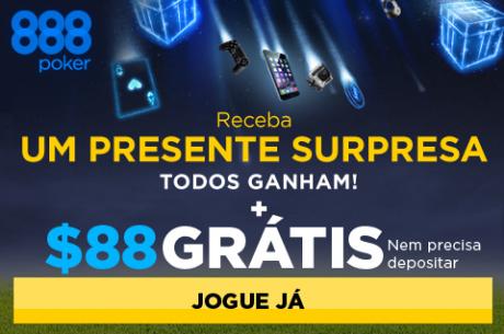 Todos Ganham na 888poker - $1,000,000 para Sortear em Prémios