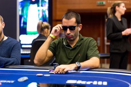 "João ""Naza114"" Vieira no Dia 2 do Super High Roller €50K EPT Praga"