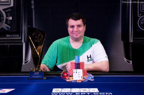 Андрій Заїченко виграв турнір хайроллерів EPT Прага...