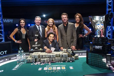 Mohsin Charania es el campeón del WPT Five Diamond World Poker Classic
