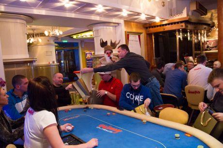 Eesti pokkerikommuun lõbutses jõulupeol Grand Prix kasiinos