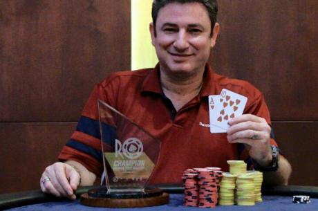 Alex Brenes Campeón del Rounders Poker Challenge 2