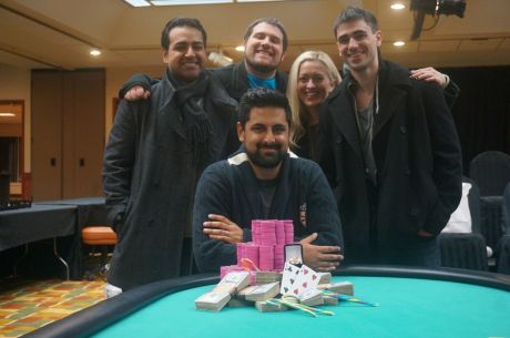 Mukul Pahuja Wins WSOP Circuit Harrah's Atlantic City Main Event for $148,345
