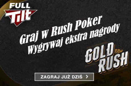 Wygraj nawet 10 tysięcy dolarów w Gold Rush na Full Tilt