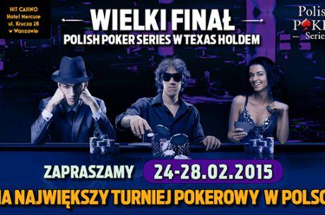 Kolejny finał Polish Poker Series w lutym. Znów będzie rekord?