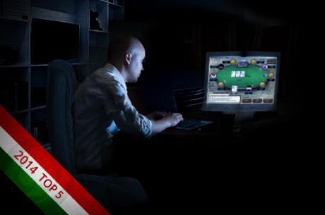 2014 Top 5: Az év legnagyobb magyar sikerei az online asztaloknál