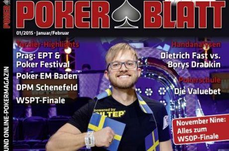 Neue PokerBlatt-Ausgabe ab sofort Handel!