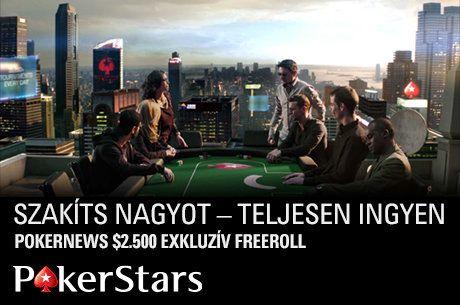 Játssz $2.500-ért exkluzív PokerStars freerollunkon, kvalifikálj januárban!