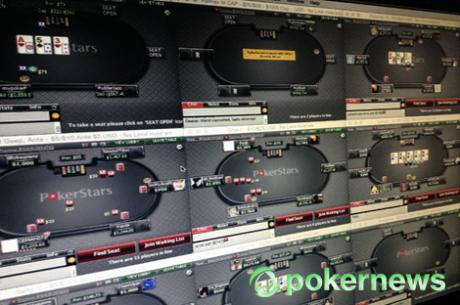 Sessão de Segunda-Feira que Parece Domingo no Poker Online