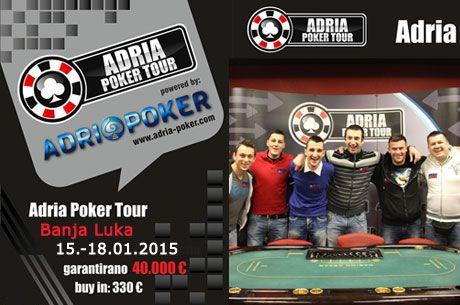 Adria Poker Tour Banja Luka 15.-18. Jan. 2015.