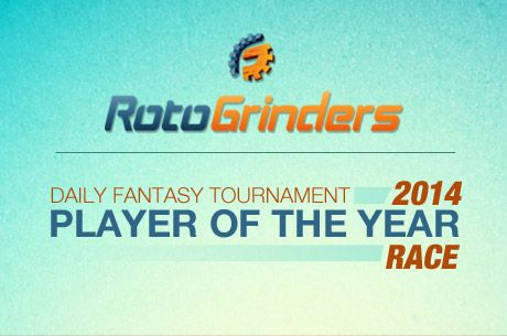 RotoGrinders Reveals Winner of 2014 Daily Fantasy Sports Tournament Player of the Year