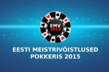 2015. aasta Eesti meistrivõistlused toimuvad 2.-11. aprillil