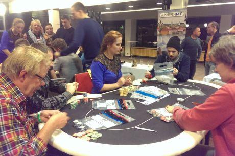 Tallinna MPN Poker Tour põhiturniiri finaalpäeva alustab liidrina Raigo Aasmaa