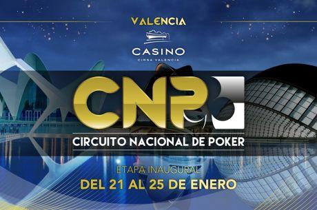 El Circuito Nacional de Poker arranca en Valencia