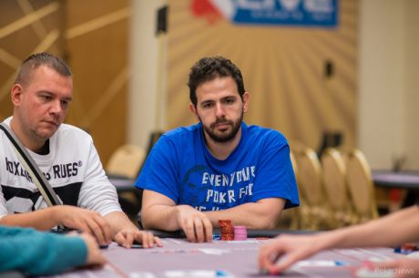 2015 partypoker WPT National Cyprus Main Event Den 1b: Kyriakides leaduje