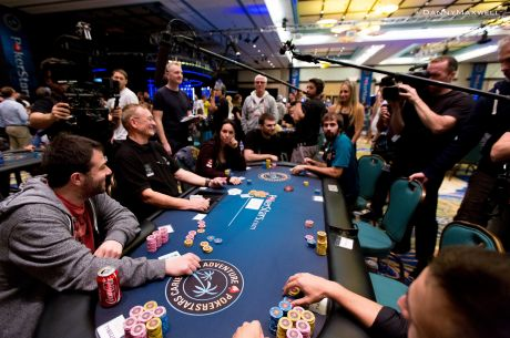 Talking Poker: The Bubble
