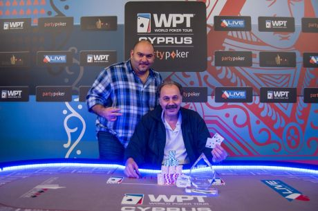 2015 partypoker WPT National Cyprus Main Event Day 2: Noubarian Leads Final 12