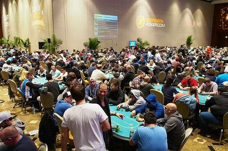 2015 WPT Borgata Day 1b: $3M Guarantee Met Despite Winter Storm