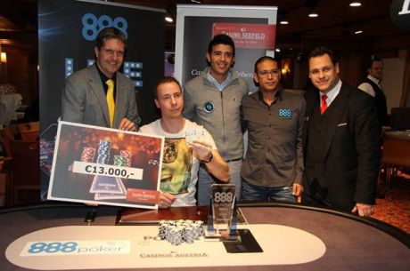 Thorsten Facius Wins the 888 Poker on Ice Live Austria Main Event