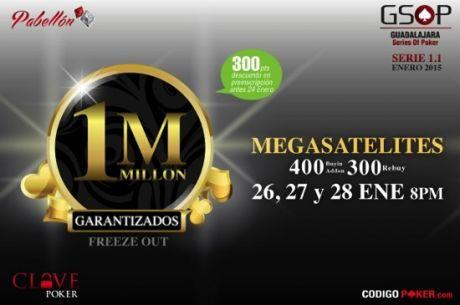 Último MegaSatélite Para el Millón Garantizado del Pabellón en Guadalajara