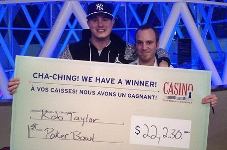 Rob Taylor Wins Casino New Brunswick's Annual Poker Bowl