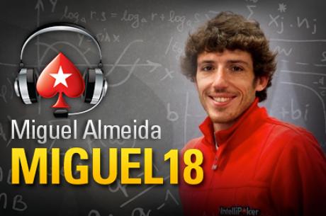 Miguel Almeida e Tomás Paiva Salvam o Dia na PokerStars; TCOOP a Zeros