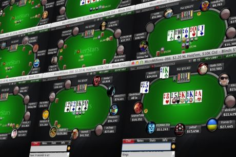 Four Tips for Navigating Large Low Buy-In Online Poker Tournament Fields