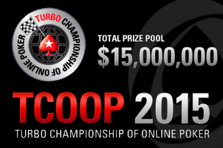 The Turbo Championship of Online Poker (TCOOP) Wraps Up This Weekend on PokerStars