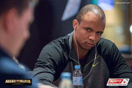 2015 Aussie Millions $250,000 Challenge Day 1: Phil Ivey Leads Going for Third Title