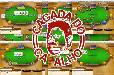 Tacuara ($45k), João Brito ($21k) e Afonso Ferro ($12k) em Grande na Stars