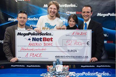 Andjelo Božić Osvojio Main Event Mega Poker Series Vienna 2015 za Nagradu od €52.700