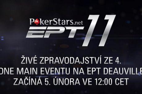 Live Stream z EPT 11 Deauville - ve hře posledních 36 hráčů
