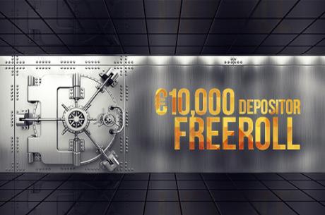 Играй в €10,000 фрийрол на 26 февруари в Poker Heaven