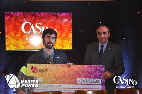 Lucas Landa se llevó la segunda Summer Cup 6K en Casino Puerto Madero