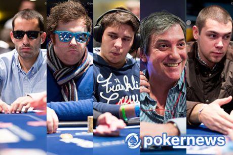 Naza, Tiago Dias, Quintas, Juca e RuiNF no Dia 2 do High Roller €10k EPT Deauville