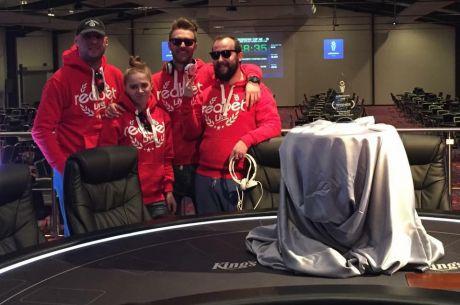 Czwórka w barwach Redbet zaczyna grę w dniu 1B PokerNews Cup