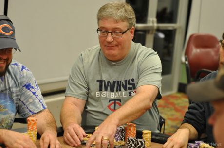 2015 MSPT Running Aces Day 1a: Mark Hodge Bags Lead Among 34 Survivors