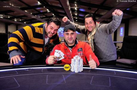 PokerNews Cup Opening event i side event v €100 Pot limit Omaze ovládli Němci, Kamil...