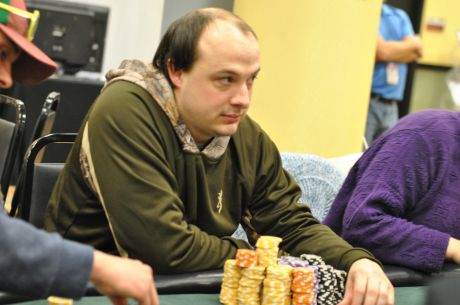 2015 MSPT Running Aces Day 1b: Joe Ford Drives To the Lead