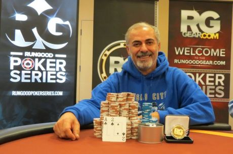 Saied Moradi Wins RunGood Poker Series Downstream Casino Main Event