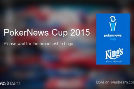 Bleskovka: Slavomír Byrtus chipleaderen FT PokerNews Cupu-Live stream začne okolo17:30