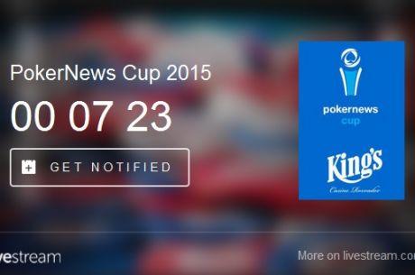 Žandár na FT PokerNews Cupu - Live Stream
