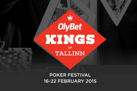 Pokkerifestival OlyBet Kings of Tallinn stardib nädala pärast