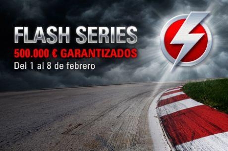 'ASHUMYK' gana el torneo estrella de las Flash Series por 21.658,75€