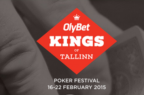 """Vasario 16-22 Taline vyks """"Olybet Kings of Tallinn"""" pokerio festivalis"""
