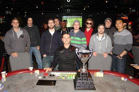 Samuel Barre-Comtois Wins $23,000 in Série Royale de Poker