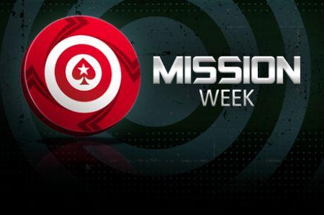 """PokerStars skelbia dar dvi """"Misijų savaites"""""""