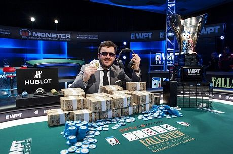 Anthony Zinno Wins 2nd WPT Title at Fallsview; Cajelais, 6th; Cloutier, 4th